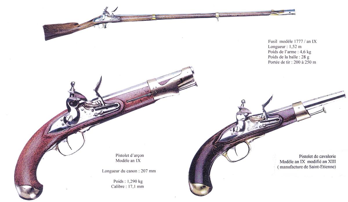 SH page 14 fusil pistolets Bis