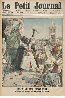 al-Hibba Morocco 1912 Le_Petit_Journal