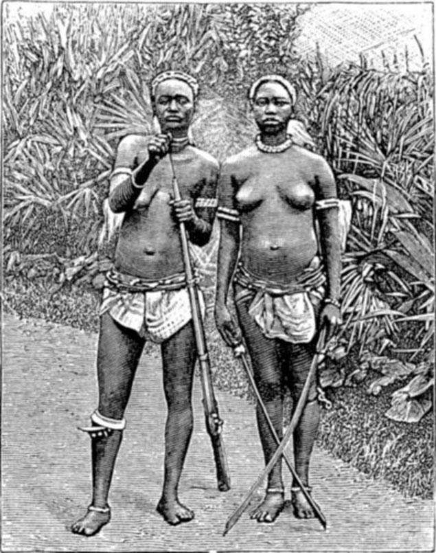 guerrieres dahomey