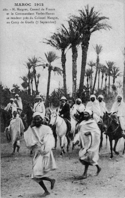 prisonniers français marrakech 1912 a la rencontre de mangin