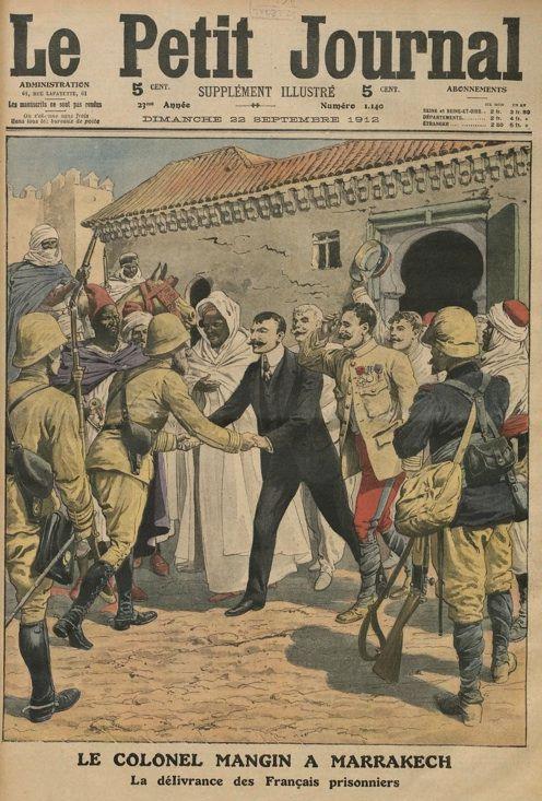 prisonniers français marrakech 1912
