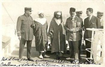 Abdelkrim exil