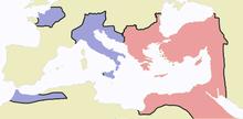 chute empire rome