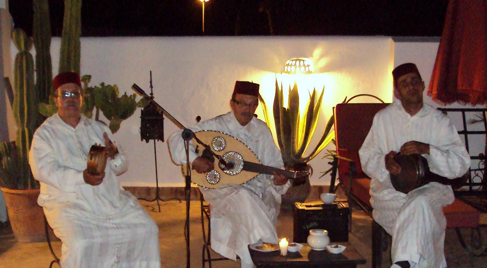 musiciens maroc